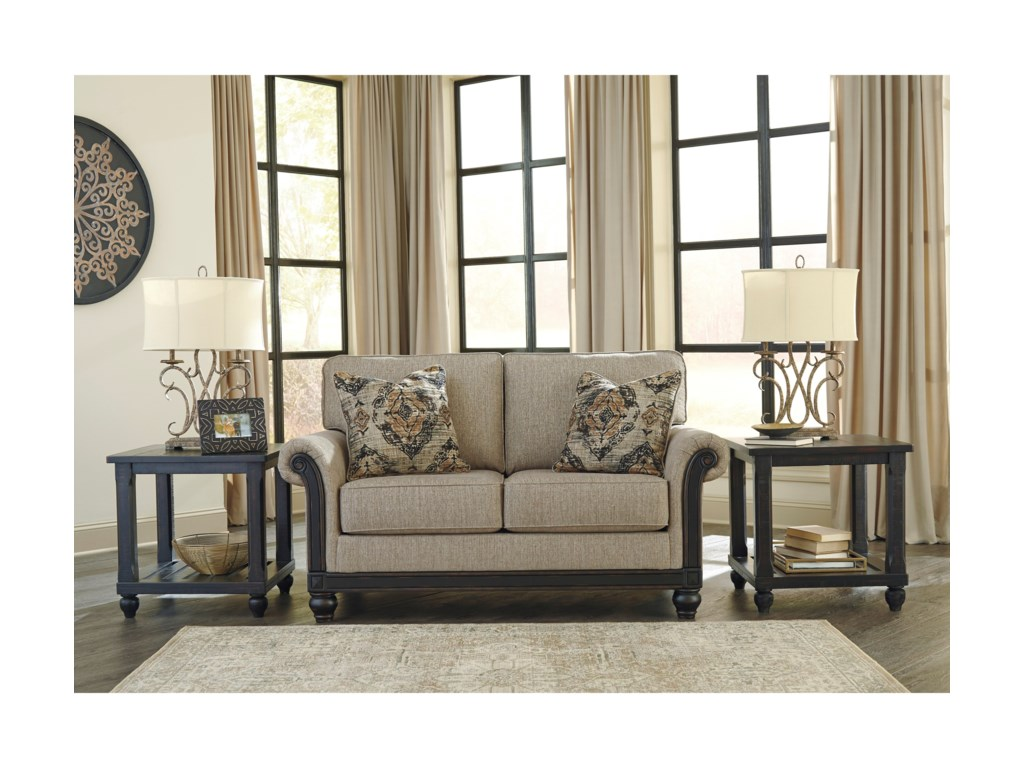 Signature Design by Ashley BlackwoodLoveseat
