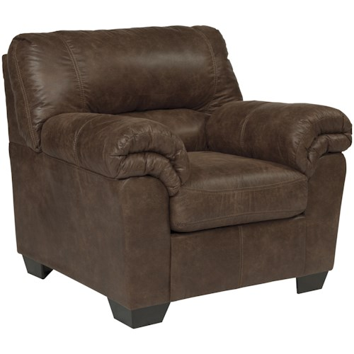 Signature Design by Ashley Bladen Casual Faux Leather Chair