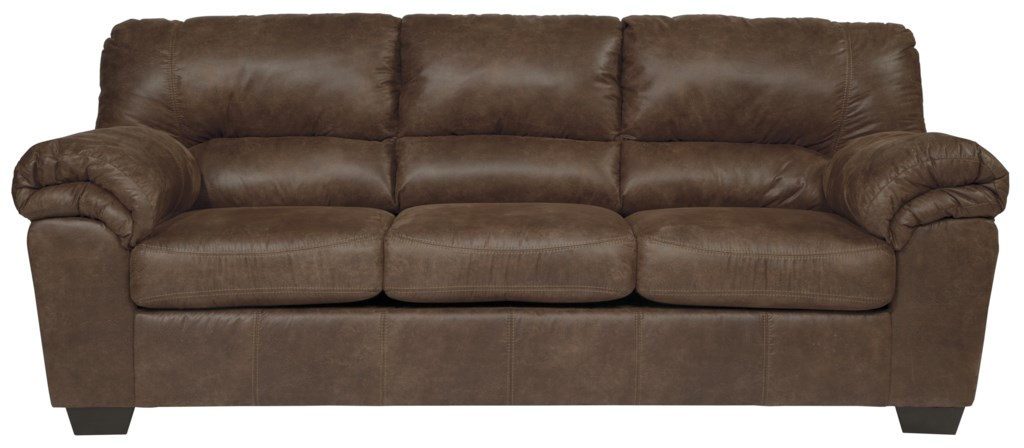 Signature Design By Ashley Bladen Casual Faux Leather Full Sofa