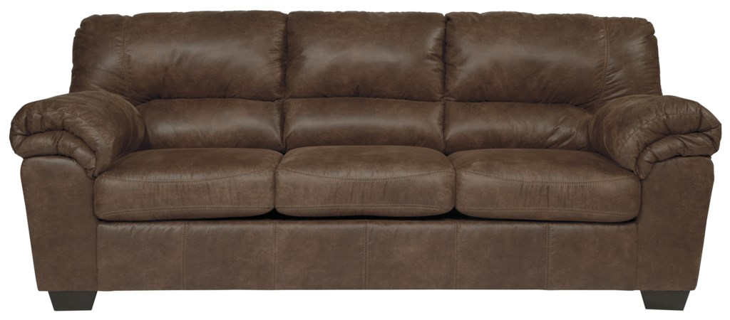 Signature Design By Ashley Bladen Casual Faux Leather Sofa Value