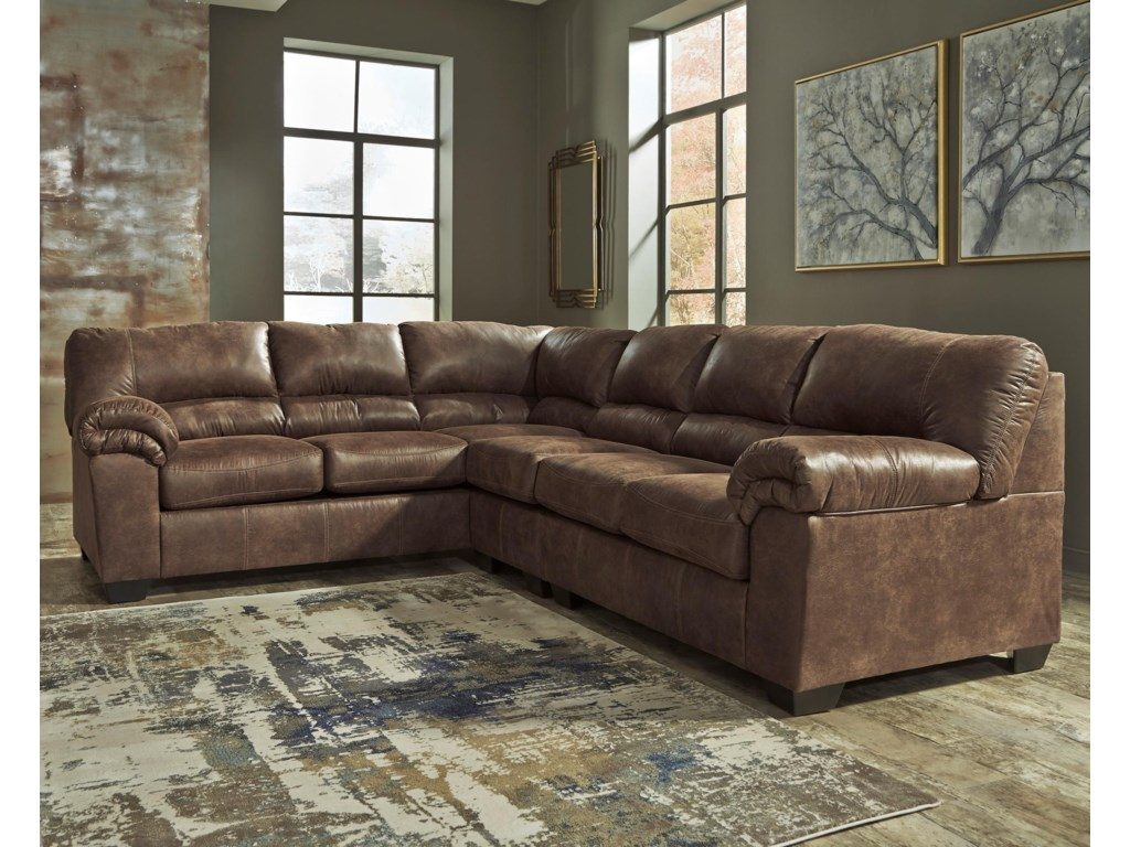 Signature Design By Ashley Bladen3 Piece Sectional