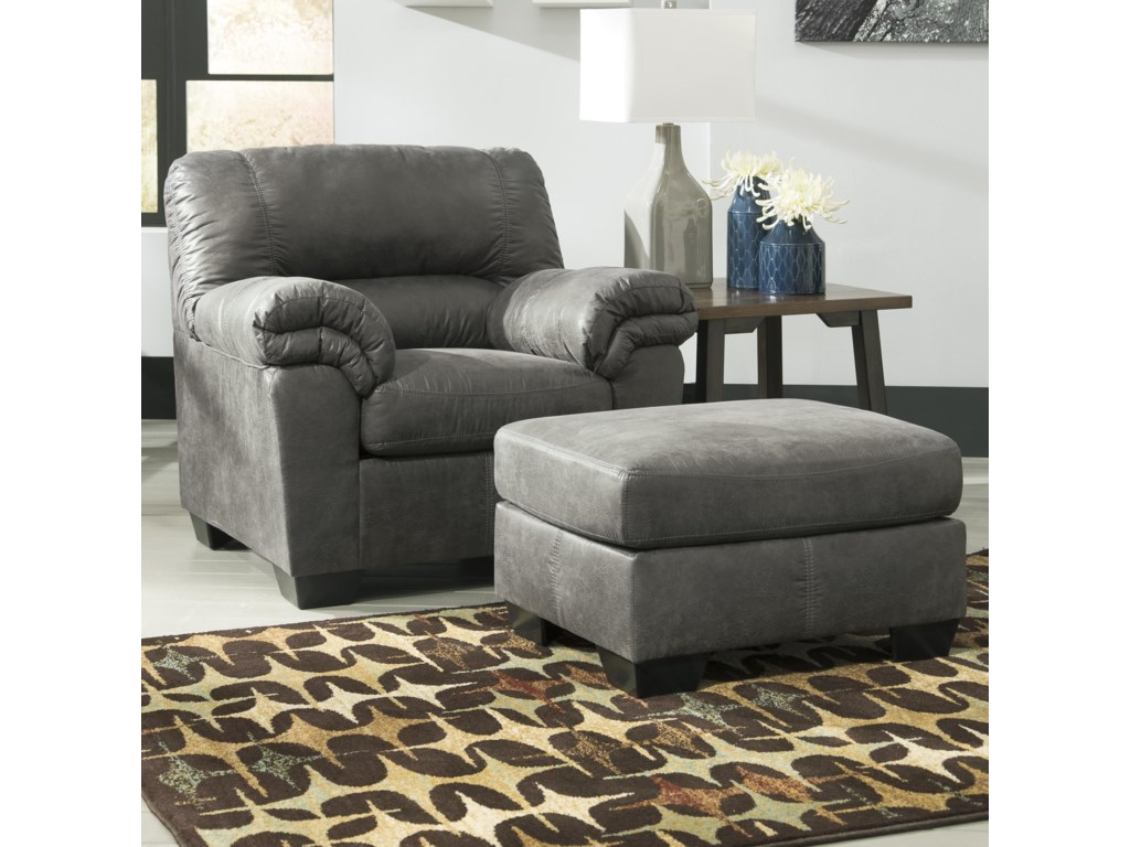 Signature Design by Ashley BladenChair & Ottoman