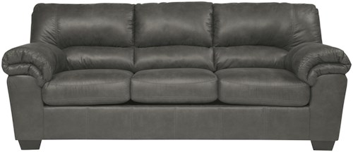 Signature Design by Ashley Bladen Casual Faux Leather Full Sofa Sleeper