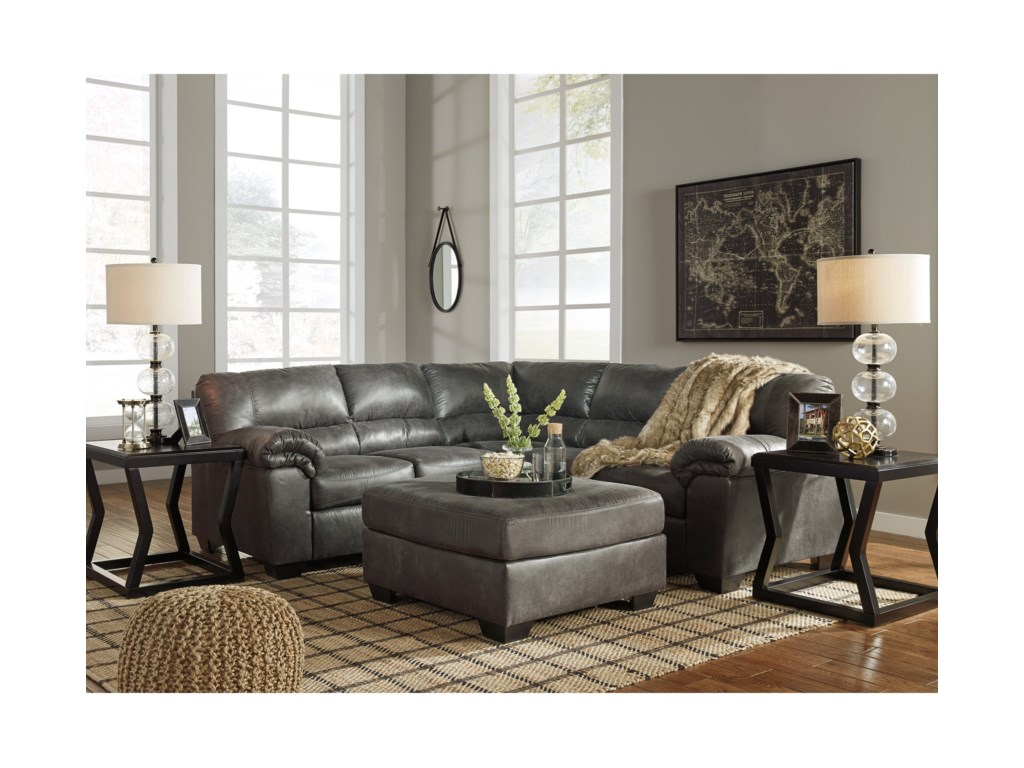 Signature Design by Ashley Bladen2-Piece Sectional
