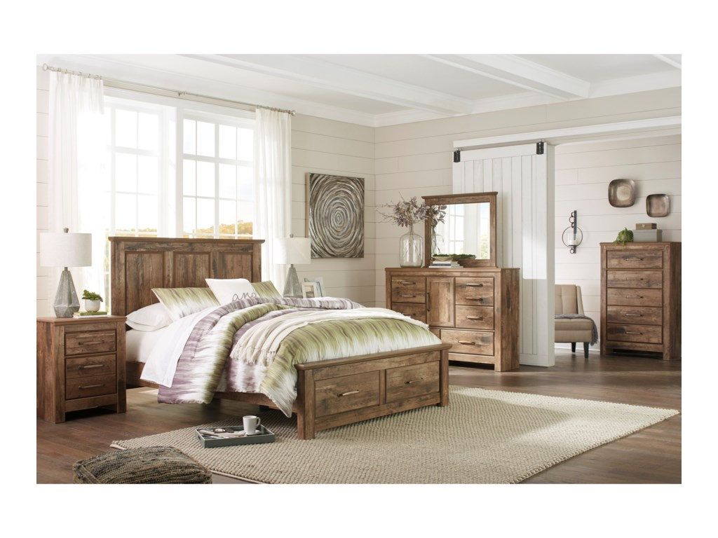 Benchcraft BlanevilleQueen Bedroom Group