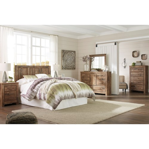 Signature Design by Ashley Blaneville King Bedroom Group