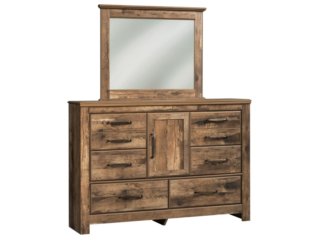 Ashley (Signature Design) BlanevilleDresser & Bedroom Mirror