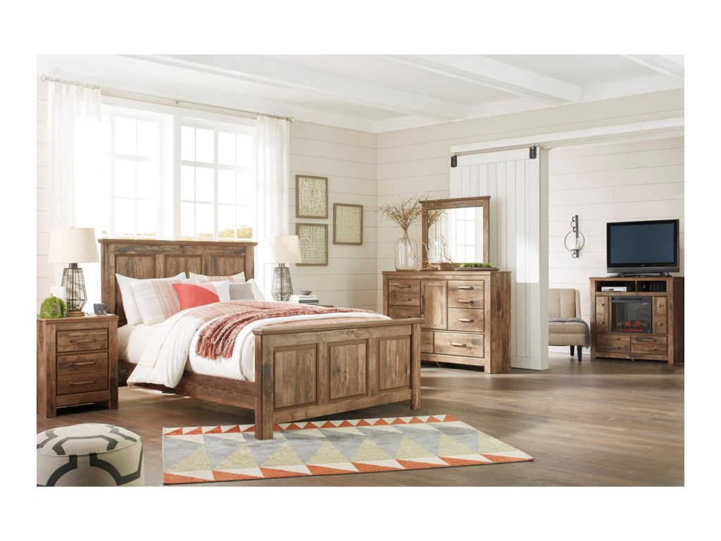 Signature Design by Ashley BlanevilleQueen Panel Bed