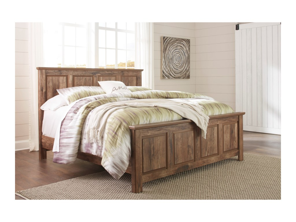Signature Design by Ashley BlanevilleKing Panel Bed