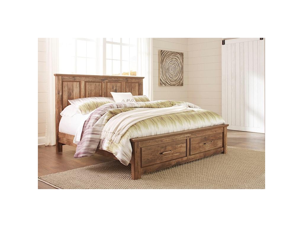 Ashley (Signature Design) BlanevilleKing Panel Storage Bed