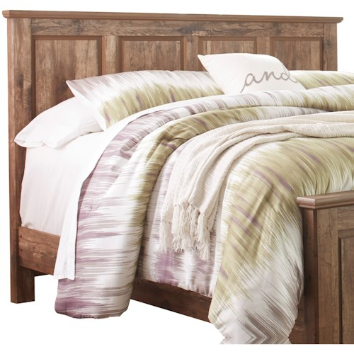 Signature Design by Ashley Blaneville Rustic Style King/Cal King Panel Headboard