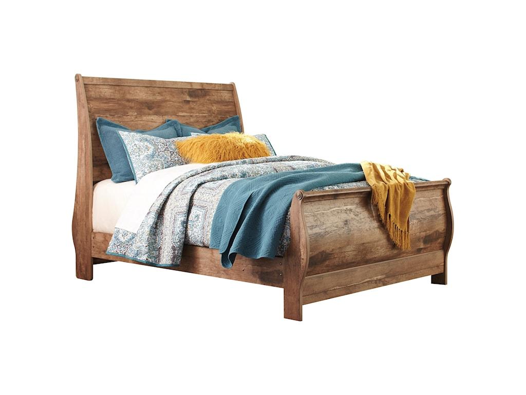 Ashley (Signature Design) BlanevilleQueen Sleigh Bed