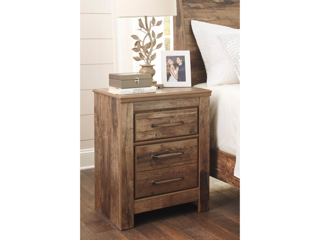 Ashley (Signature Design) BlanevilleTwo Drawer Night Stand