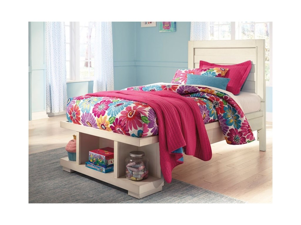 Signature Design by Ashley BlairTwin Panel Storage Bed