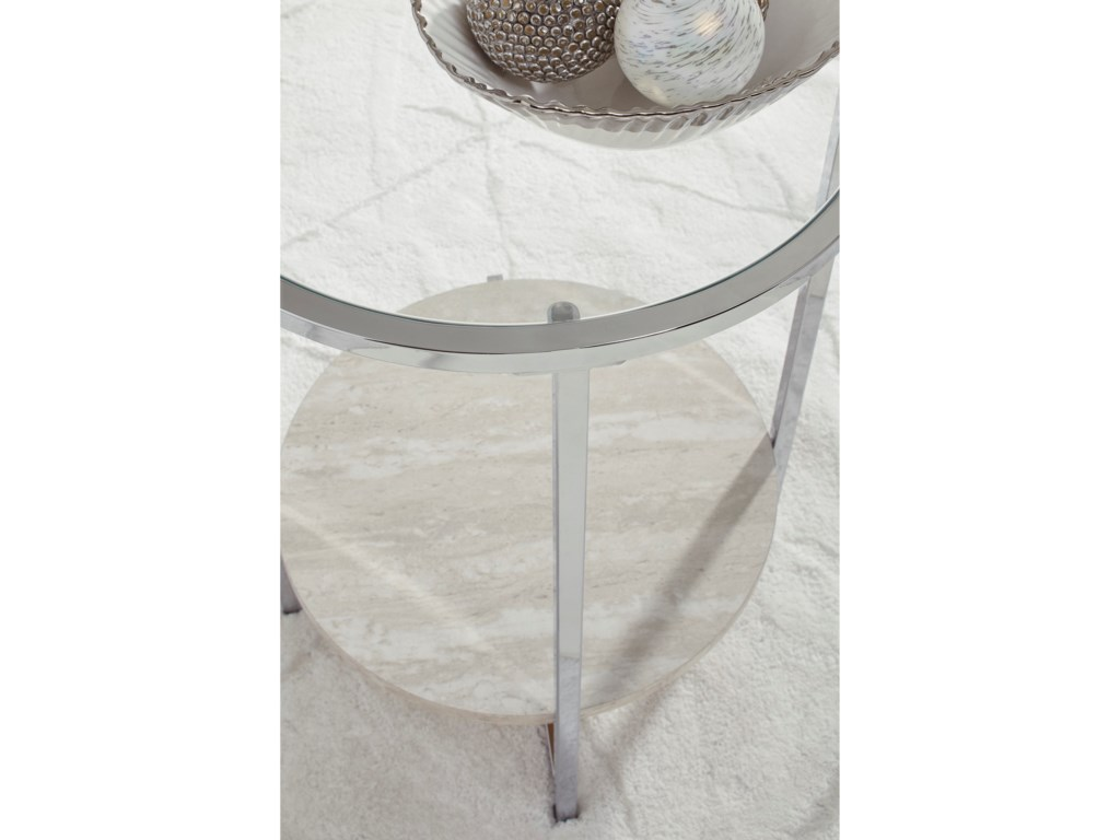 Signature Design by Ashley BodalliRound End Table