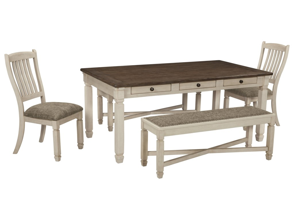 Signature Design by Ashley Bolanburg6 PC Dining Room Set