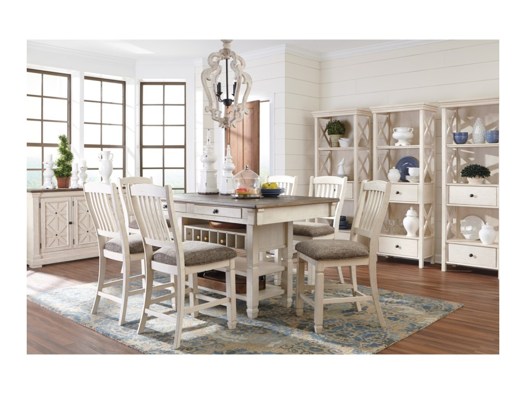 423a7eb5fcc68 Bolanburg Formal Dining Room Group by Ashley Signature Design