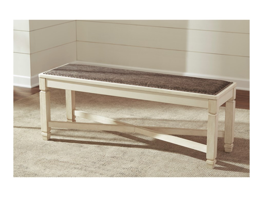 Signature Design by Ashley BolanburgUpholstered Dining Room Bench