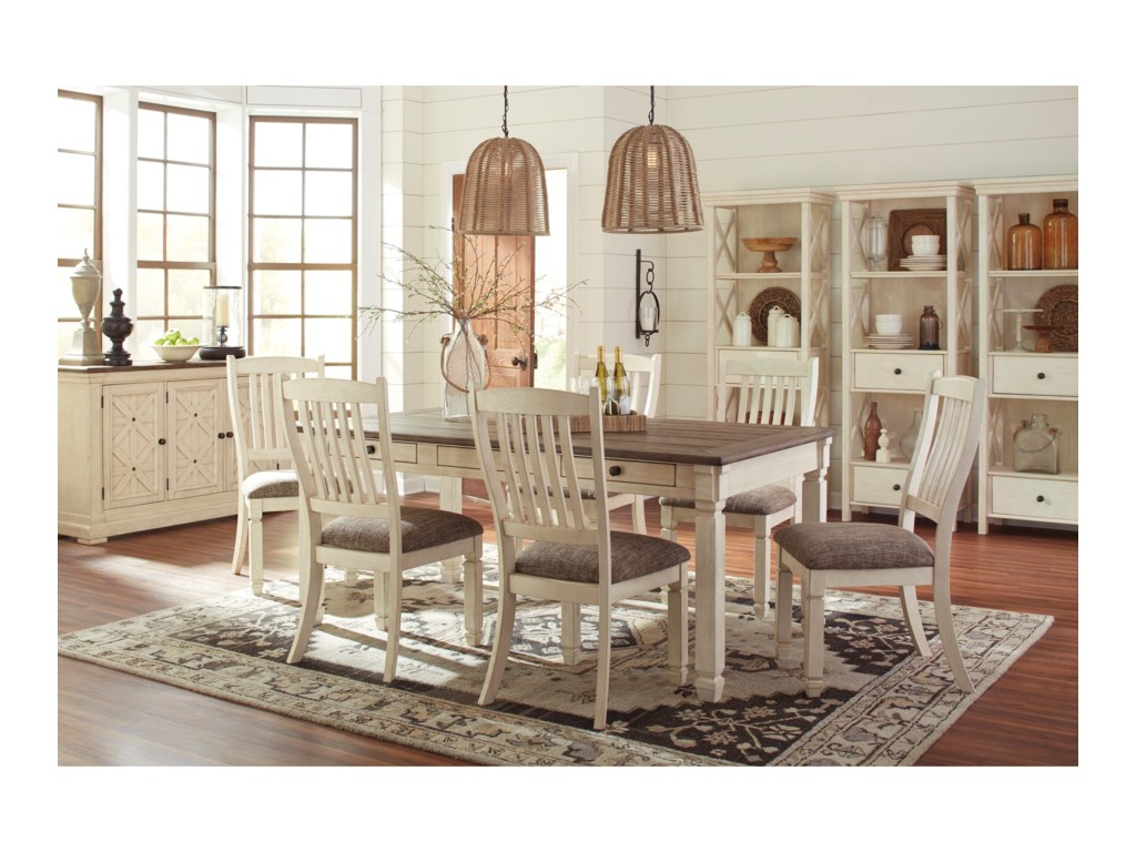 Signature Design by Ashley Thomas7-Piece Table and Chair Set