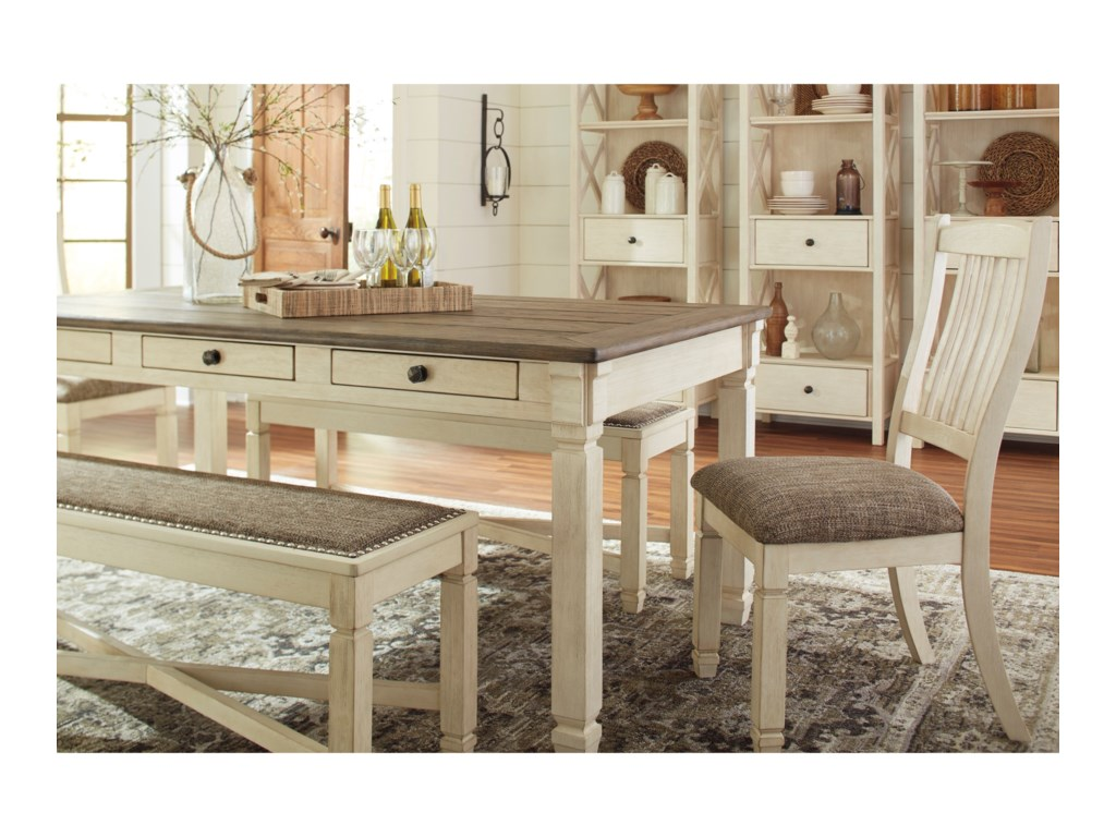 Signature Design by Ashley BolanburgRectangular Dining Room Table