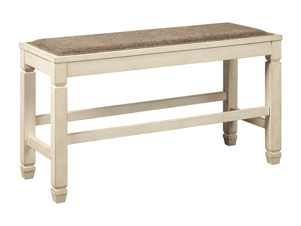Signature Design by Ashley Bolanburg3-Piece Counter Table and Bench Set