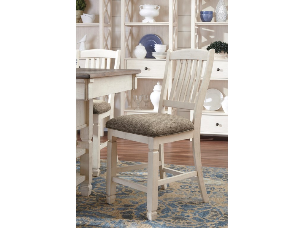 5068dd142a923 ... Ashley Signature Design Bolanburg5-Piece Counter Table and Stool Set
