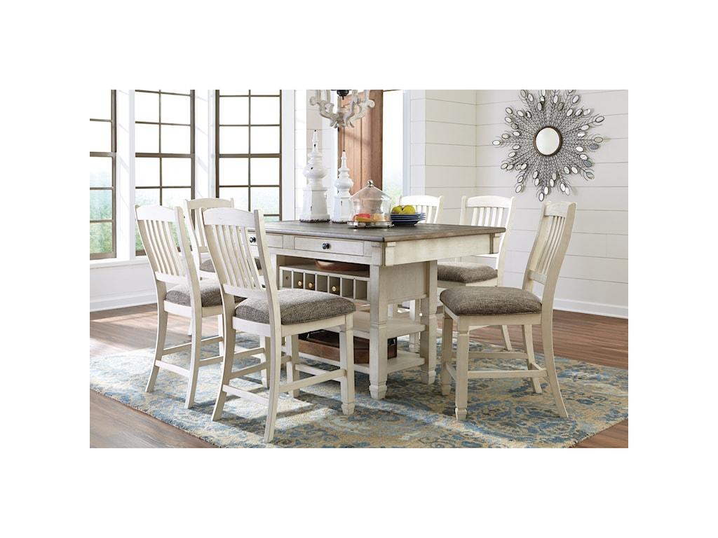 Ashley (Signature Design) BolanburgRectangular Dining Room Table