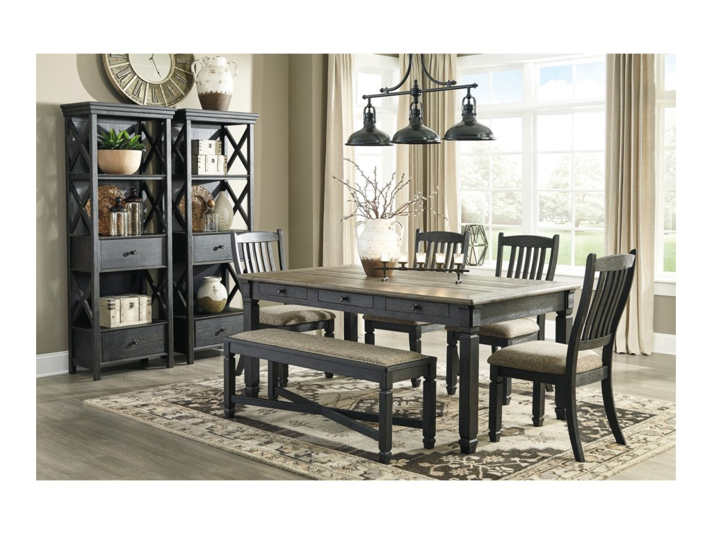 Benchcraft Tyler CreekCasual Dining Room Group