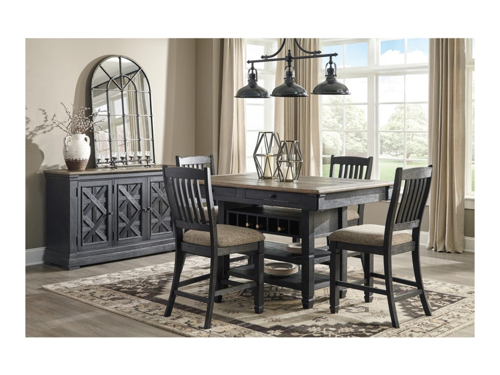 Ashley (Signature Design) Tyler CreekCasual Dining Room Group