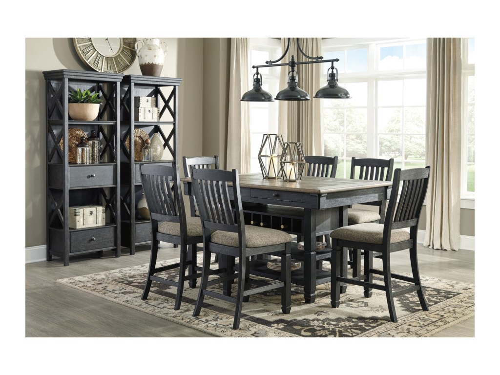 Tyler Creek Formal Dining Room Group by Signature Design by Ashley at Gill  Brothers Furniture