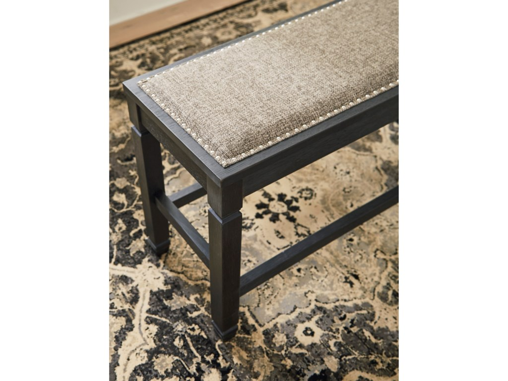 Signature Design by Ashley Tyler CreekDouble Counter Upholstered Bench