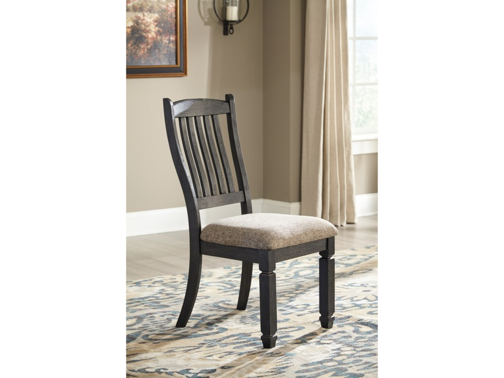 Signature Design by Ashley Tyler Creek7 Piece Table and Chair Set
