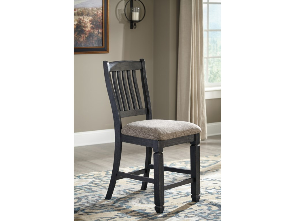 Signature Design by Ashley Tyler Creek7 Piece Counter Table and Stool Set