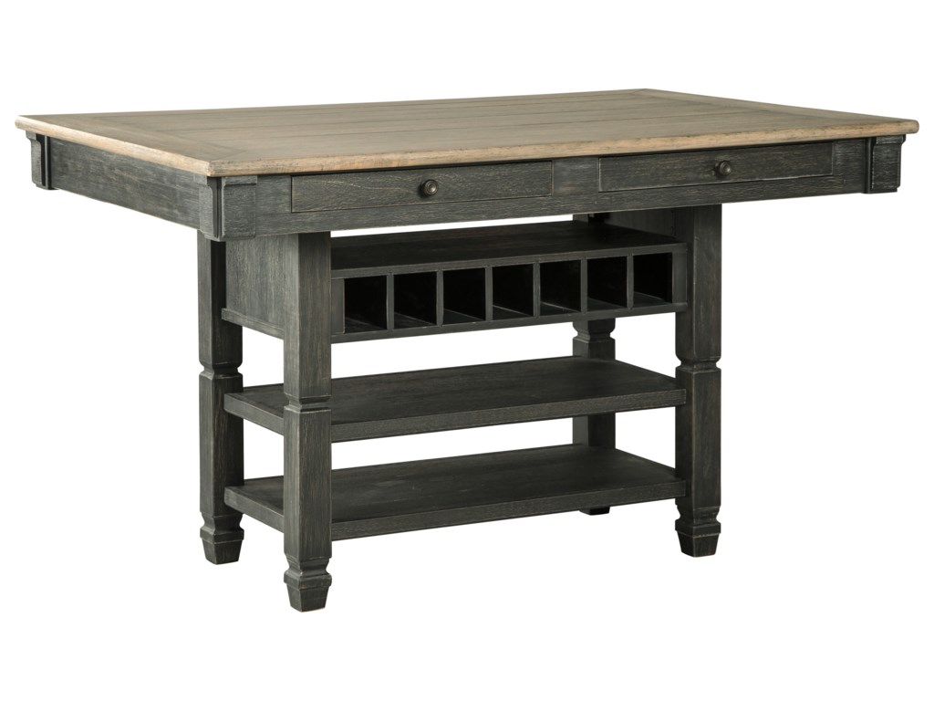 Signature Design by Ashley Tyler CreekRectangular Dining Room Counter Table