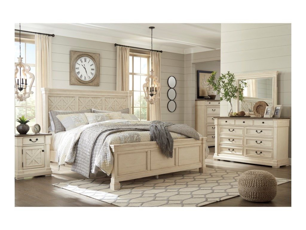 Ashley (Signature Design) BolanburgDresser & Bedroom Mirror