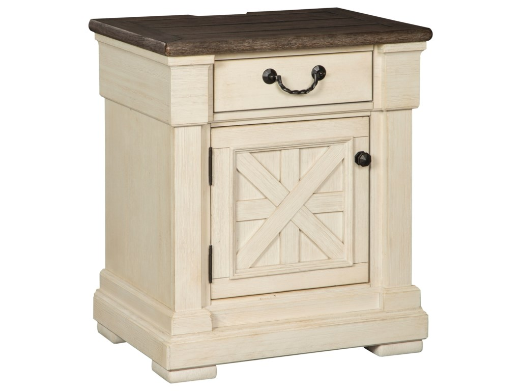 Signature Design by Ashley BolanburgOne Drawer Night Stand