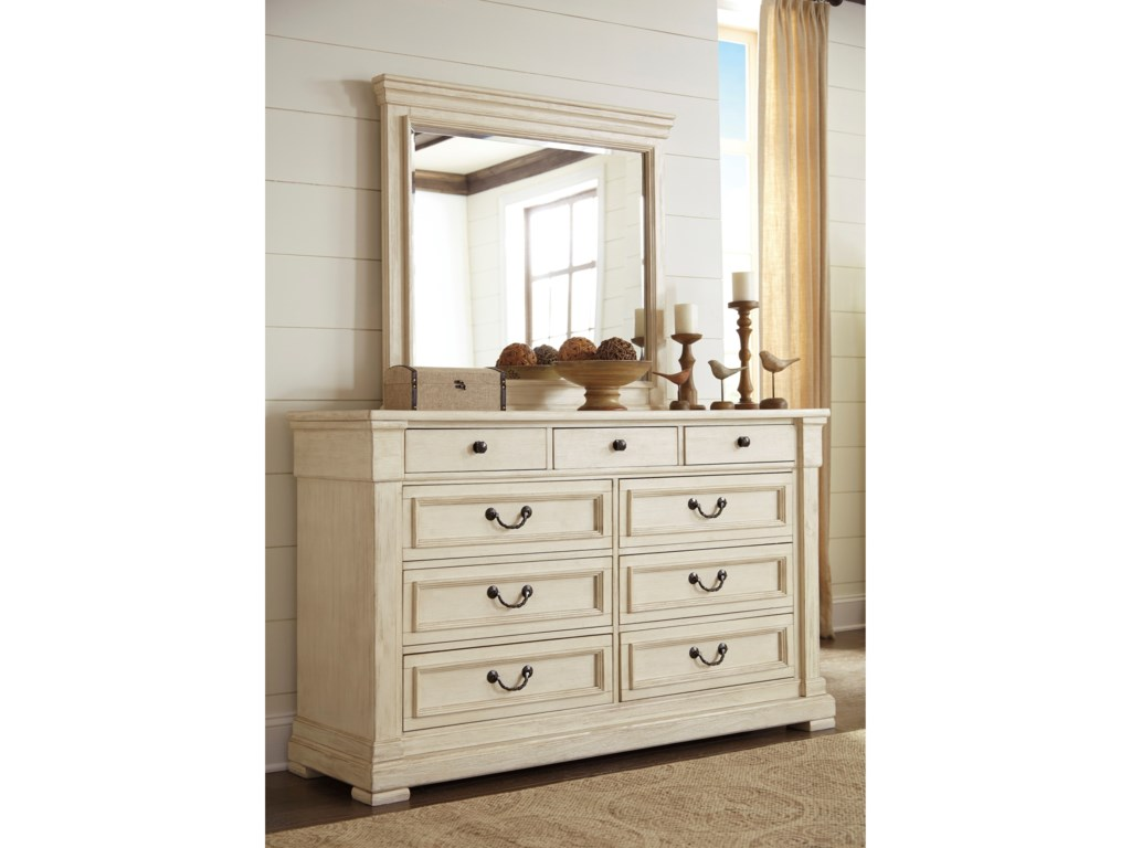 Signature Design by Ashley BolanburgDresser & Bedroom Mirror