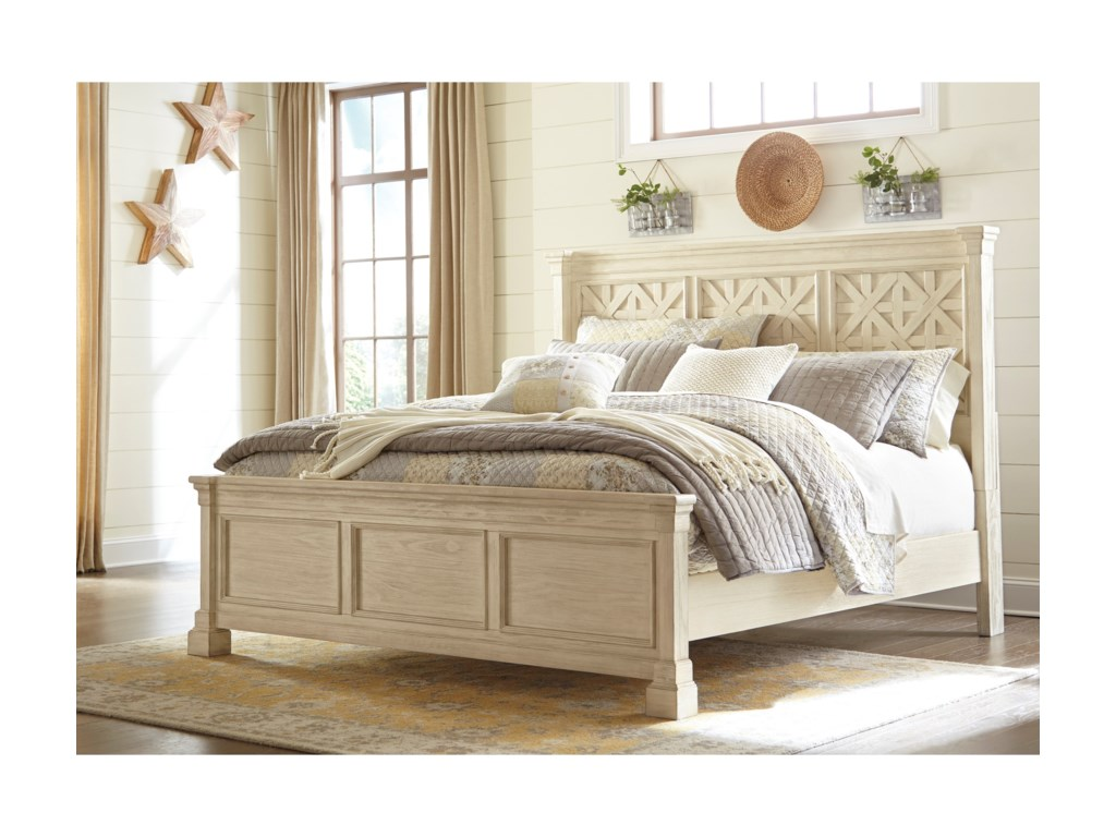Signature Design by Ashley BolanburgCalifornia King Panel Bed