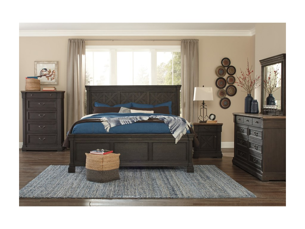 Ashley (Signature Design) Tyler CreekCalifornia King Bedroom Group
