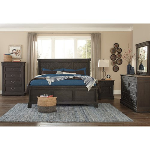 Signature Design by Ashley Tyler Creek California King Bedroom Group