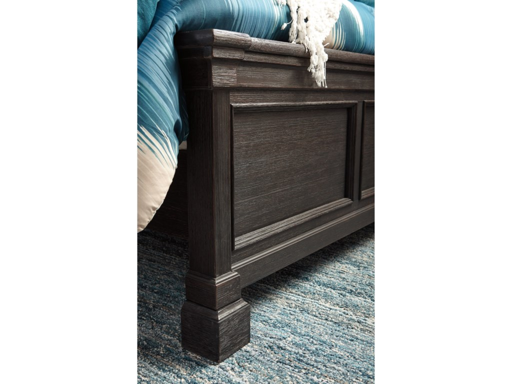 Signature Design by Ashley Tyler CreekQueen Louvered Headboard Panel Bed