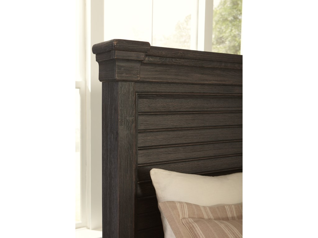 Signature Design by Ashley Tyler CreekKing Louvered Headboard Panel Bed