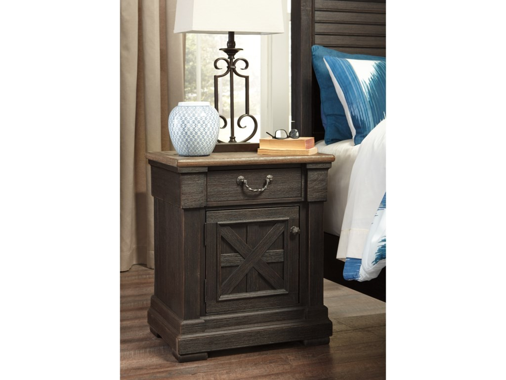 Signature Design by Ashley Tyler CreekOne Drawer Night Stand