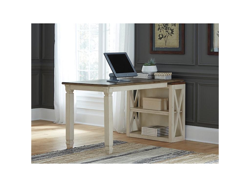 Ashley (Signature Design) BolanburgReturn Desk with Bookcase