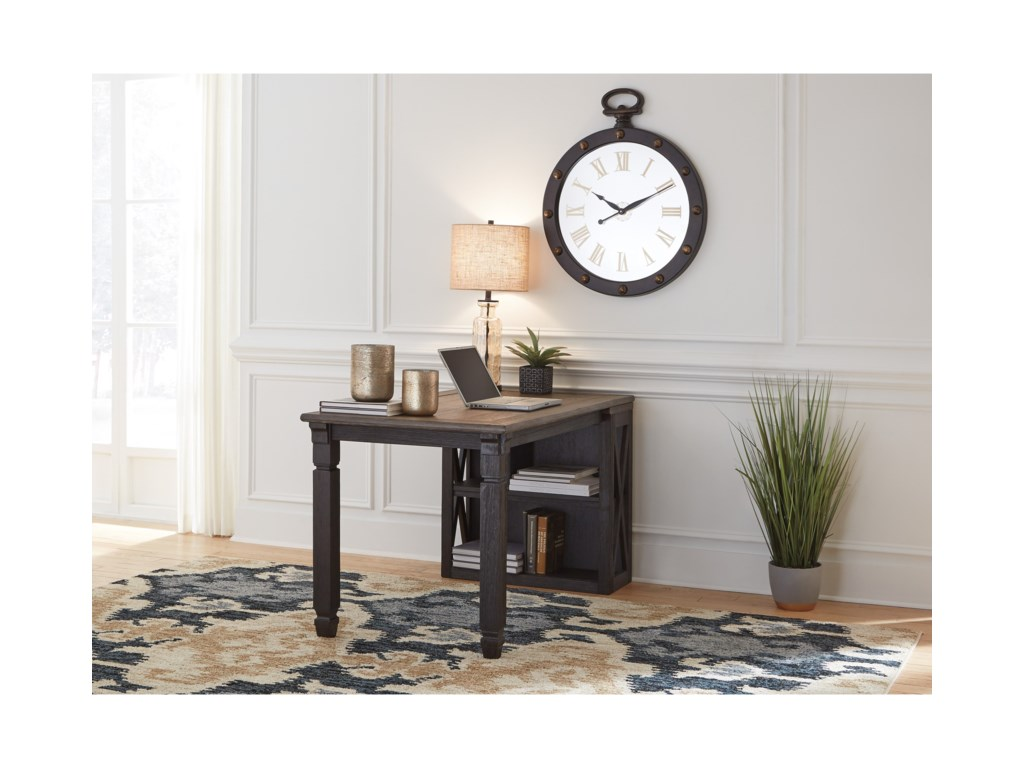 Ashley (Signature Design) Tyler CreekReturn Desk with Bookcase