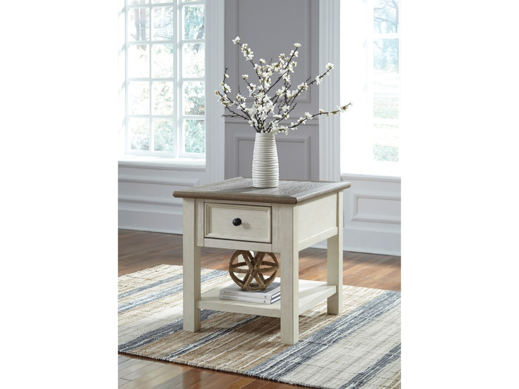 Signature Design by Ashley BolanburgRectangular End Table