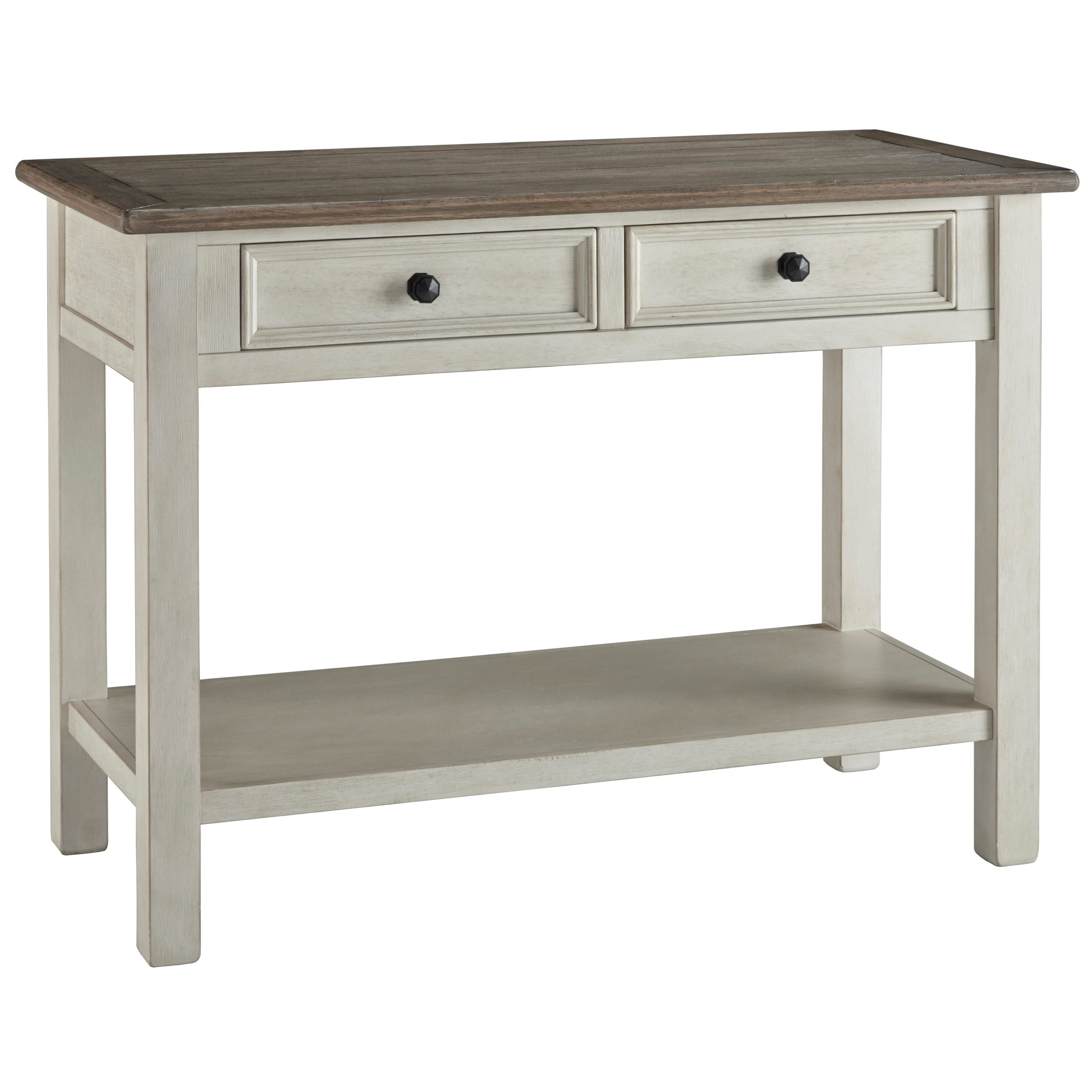 Sofa Table with 2 Drawers