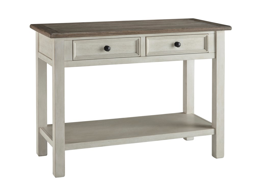 Signature Design by Ashley ToryWhite Sofa Table