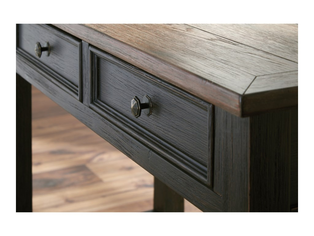 Signature Design by Ashley ToryBlack Sofa Table