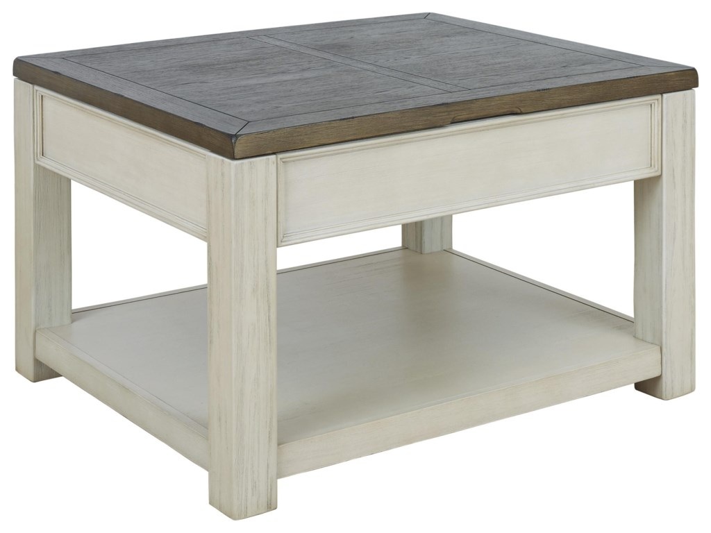 Signature Design by Ashley BolanburgCocktail Table, End Table and Sofa Table Set